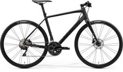 SPEEDER 400 MATT BLACK/GLOSSY BLACK XL 59CM