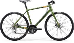 SPEEDER 100 MATT FOG GREEN/DARK GREEN/GOLD XS 47CM
