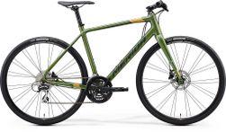 SPEEDER 100 MATT FOG GREEN/DARK GREEN/GOLD L 56CM