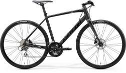 SPEEDER 100 MATT BLACK/GLOSSY BLACK/SILVER XL 59CM