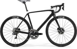 SCULTURA DISC 10K-E MATT BLACK/GLOSSY WHITE L 56CM