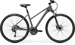 CROSSWAY 300 MATT DARK GREY/BLACK M 51CM LADIES