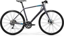 SPEEDER 500 MATT ANTHRACITE/BLACK/BLUE M-L 54CM