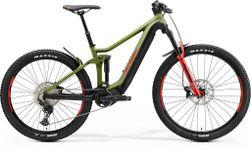 E-ONE FORTY 500 MATT GREEN/BLACK/RED XL 45CM