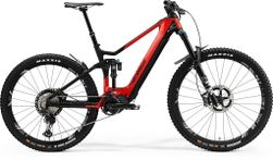 E-ONE SIXTY 9000 GLOSSY RED/MATT BLACK XL 50CM