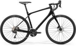 SILEX 400 GLOSSY BLACK/MATT BLACK XL 56CM
