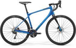 SILEX 400 GLOSSY MATT BLUE/BLACK L 53CM
