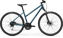 CROSSWAY 100 LADIES TEAL BLUE/SILVER BLUE LIME S 4