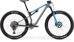 NINETY-SIX 8000 MATT STEEL BLUE/GLOSSY BROWN S 16""