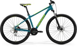 BIG SEVEN 20 TEAL BLUE/LIME L 19""
