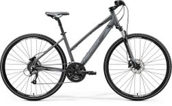 CROSSWAY 40 LADIES SILK ANTHRACITE/GREY BLACK M 50