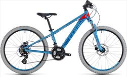 CUBE KID 240 DISC BLUE/FLASHRED 2018 24""