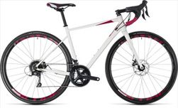 CUBE AXIAL WS PRO WHITE/BERRY 2018 50 CM