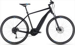CUBE CROSS HYBRID ONE 400 BLACK/BLUE 2018 54 CM