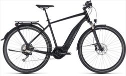 CUBE TOURING HYBRID EXC 500 BLACK/GREY 18/19 54 CM