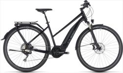CUBE TOURING HYBRID EXC 500 BLACK/GREY 18/19 TR.50