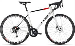 CUBE ATTAIN PRO DISC WHITE/RED 2018 58 CM