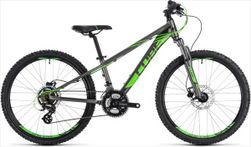 CUBE KID 240 DISC GREY/FLASHGREEN 2019 24""