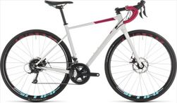 CUBE AXIAL WS PRO DISC WHITE/BERRY 2019 50CM