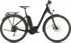 CUBE TOURING HYBRID ONE 400 BLACK/BLUE 2019 EE58