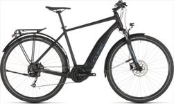 CUBE TOURING HYBRID ONE 500 BLACK/BLUE 2019 50CM