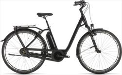 CUBE TOWN HYBRID EXC 400 BLACK EDITION 2019 EE46