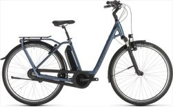 CUBE TOWN HYBRID EXC 400 BLUE/BLUE 2019 EE42