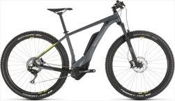 CUBE REACTION HYBRID RACE 500 GREY/LIME 2019 18""