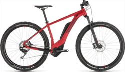 CUBE REACTION HYBRID RACE 500 RED/RED 2019 19""