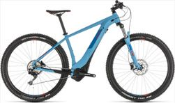 """CUBE REACTION HYBRID EXC 500 BLUE/RED 2019 18"""""""
