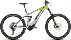 CUBE STEREO HYBRID 160 RACE 500 27.5 GRY 2019 18""