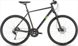 CUBE CROSS PRO IRIDIUM/GREEN 2019 50CM