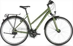 CUBE TOURING GREEN/SILVER 2019 TRAPEZE 50CM