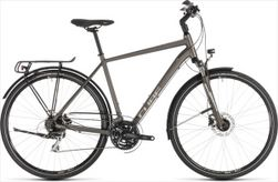 CUBE TOURING PRO BROWN/SILVER 2019 58CM