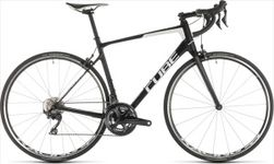 CUBE ATTAIN GTC RACE CARBON/WHITE 2019 62CM