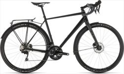 CUBE NUROAD RACE FE BLACK/GREY 2019 53CM