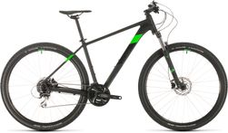 CUBE AIM RACE BLACK/FLASHGREEN 2020 16""