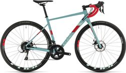 CUBE AXIAL WS PRO GREYBLUE/CORAL 2020 53CM