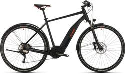 CUBE NATURE HYBRID EXC 500 ALLR. BLK/RED 2020 62CM