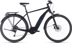 CUBE TOURING HYBRID ONE 400 BLACK/BLUE 2020 58CM