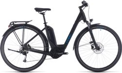 CUBE TOURING HYBRID ONE 500 BLACK/BLUE 2020 EE46