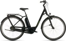 CUBE TOWN HYBRID PRO 500 BLACK/GREEN 2020 EE50
