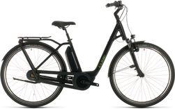 CUBE TOWN HYBRID PRO 500 BLACK/GREEN 2020 EE54
