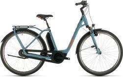 CUBE TOWN HYBRID PRO 500 BLUE/ORANGE 2020 EE42