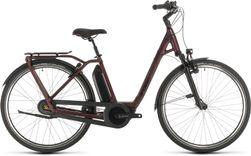 CUBE TOWN HYBRID EXC 500 RED/BLACK 2020 EE54