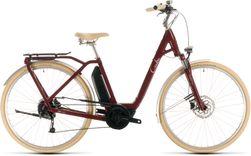 CUBE ELLA RIDE HYBRID 500 RED/WHITE 2020 EE46