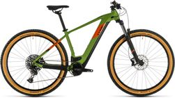 CUBE REACTION HYBRID EX 500 GREEN/ORANGE 2020 15""