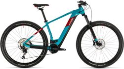 CUBE REACTION HYBRID EXC 625 PETROL/RED 2020 23""