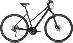 CUBE NATURE EXC BLACK/RED 2020 T50