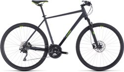 CUBE CROSS PRO IRIDIUM/GREEN 2020 62CM